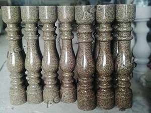 Granite stone baluster machine