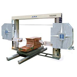 Wire Saw,Block Saw,Block Cutting,Cutting Slabs,Profile Machine